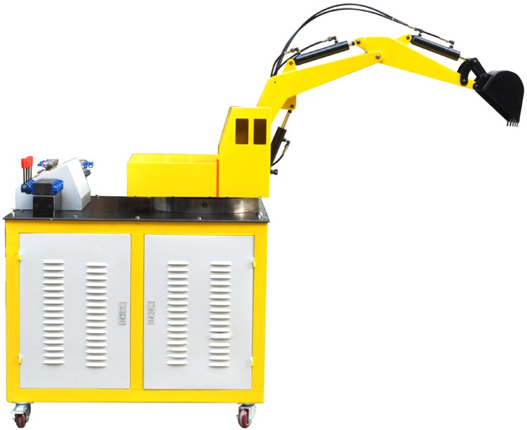 挖掘机液压系统与PLC控制实训装置
