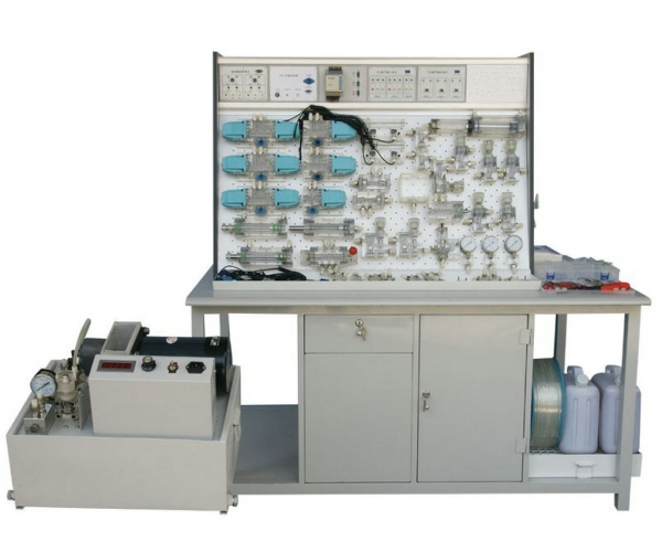 插孔式铁桌液压PLC控制实验台