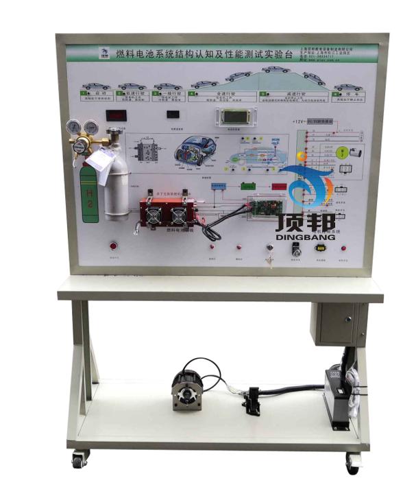 燃料电池系统结构认知及性能测试实验台